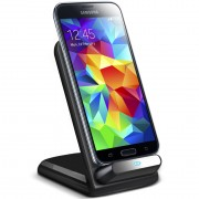 Qi Wireless Charger Stand (3-Coils) for Samsung Galaxy S5