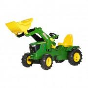 Rolly Farmtrac John Deere 6210R pedálos traktor markolóval