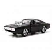 Modèle Réduit En Métal : Voiture Fast & Furious 1/32 : Dodge Charger Silver Wheel
