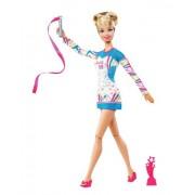 Barbie W3766 - Bambola, Campionessa di ginnastica