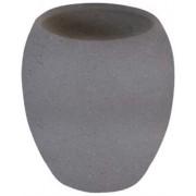 Vaso portacepillos cerámica Piedra gris | Accesorios de baño online