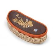 NICI - Wild Friends XXII: estuche de peluche y poliéster con figura de tigre con gancho (35279)