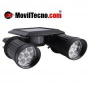 Foco farol lampara luz LED SOLAR barata