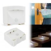 54897 Lampada luce 2 led notturna con sensore di movimento da parete