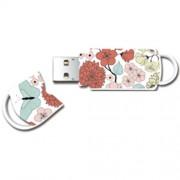 Stick USB Xpression Butterfly 8GB Multicolor Integral