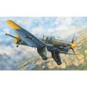 Maquette Avion Militaire : Junkers Ju-87a Stuka-Trumpeter