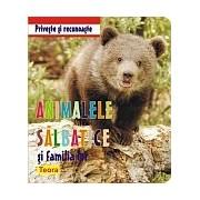 Priveste si recunoaste animalele salbatice si familia lor .