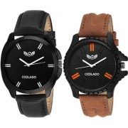 Coolado CL-6121 Combo Of 02 Watches For Men's