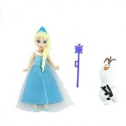 Replacement Dolls for Disney Frozen Magical Lights Palace Playset (Elsa Olaf and Scepter)