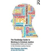 The Routledge Guide to Working in Criminal Justice by Ester Ragonese