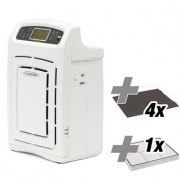 Purificator de aer AirgoClean 105 S + 4 buc. filtre carbune activ + filtru True HEPA
