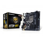 Gigabyte Ga-h170n-wifi Placa Mae Intel, Ddr4, Raid 4k Bluetooth