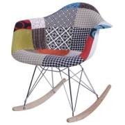Sun Cadeira Eames com Braco Base Balanco Patchwork 36364 Sun House