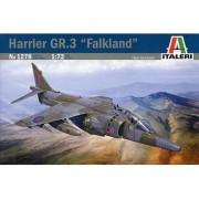 ITALERI 1:72 Aircraft No 1278 Harrier GR.3 Falklands Anniversary Model Kit by Italeri