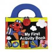 Ks Kids Plüss foglalkoztató könyvecske