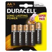 Baterie Duracell Basic AA LR06 4+1 gratis