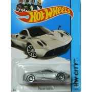 Hot Wheels 2013 Hw City Street Power Silver Pagani Huayra 8/250