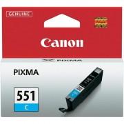 CANON CLI-551C, Cyan InkJet Cartridge (BS6509B001AA)