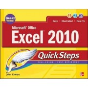 Microsoft Office Excel 2010 QuickSteps by John Cronan