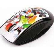 Mouse Wireless Modecom MC-619 Art Looney Tunes 1 Negru