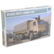 Trumpeter 1:35 - M1083 Fmtv Standard Cargo Truck With Armoured Cab (Tru01008)