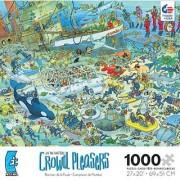 Crowd Pleasers Deep Sea Fun 1000 Piece Jigsaw Puzzle