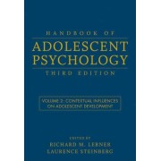 Handbook of Adolescent Psychology: Contextual Influences on Adolescent Development v. 2 by Richard M. Lerner
