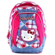 Hello Kitty 16300 Children's Backpack, Pink/ Light Blue