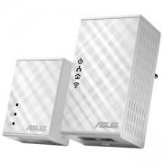 ASUS POWERLINE PL-N12 AV 500MBPS + 300 MBPS 802.11N WI-FI, 2 БР. В ПАКЕТ, ASUS-PL-N12-KIT