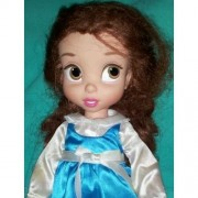 Disney Princess Animators' Collection Toddler Doll 16'' H - Belle with Plush Friend Chip by Disney