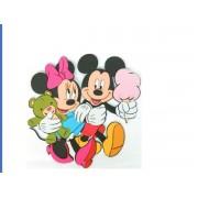 Mickey&Minnie falidekor 03