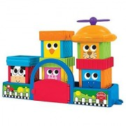 Developmental Blocks and Stay Trays to aid in stacking-Help baby to learn the animals that live on the farm-Barn base h