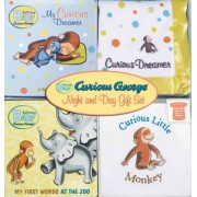 Curious Baby Curious George Night and Day Gift Set by H A Rey