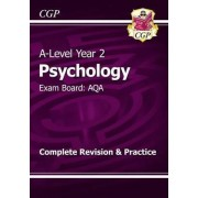 New A-Level Psychology: AQA Year 2 Complete Revision & Practice by CGP Books