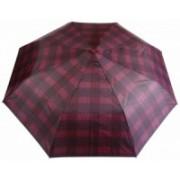 Deštník pánský vystřelovací károvaný bordó 9143-3 9143-3