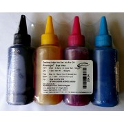 Splashjet brand Refill ink for Canon G1000,G2000,G3000 printers (100ml x 4 colour)