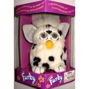 Furby Model 70-800 Dalmatian White with Black Spots Electronic Furbie