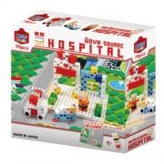 Japan LEGO - Artech ArTec block Town Square Series Hospital (70 pieces) *AF27*