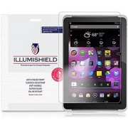 HP 10 Plus Screen Protector [2-Pack] iLLumiShield - Japanese Ultra Clear HD Film with Anti-Bubble and Anti-Fingerprint Invisible Shield