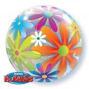 Bubbles 56cm Flori, Qualatex 32302