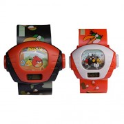 VITREND Angry Bird Single Projector Digital Gift Watches For Kids