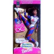 Barbie Olympic Gymnast Barbie Doll (Auburn Hair 1995) by Mattel