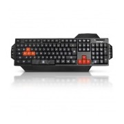 Teclado Gamer Vorago KB-500, Alámbrico, USB, Negro (Inglés)