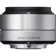 Obiectiv Foto Sigma 30mm f2.8 DN MFT Argintiu