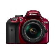 Nikon D3400 + AF-P 18-55VR Red Digital SLR Camera and Lens Kit