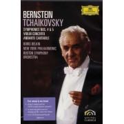 Leonard Bernstein, Boris Belkin, New York Philarmonic, Boston Symphony Orchestra - Tchaikovsky - Symphonies Nos. 4 & 5 (0044007345115) (1 DVD)