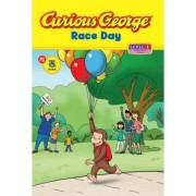 Curious George Race Day (cgtv Early Reader Pob) by H.A. Rey