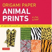 Origami Paper Animal Prints by Tuttle Publishing