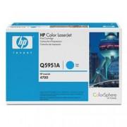 HP INC. - TONER CIANO 643A 10.000 PG PER COLORLASERJET 4700 - Q5951A