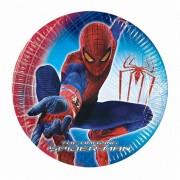 Pókember parti tányér - 20 cm - 10 darabos